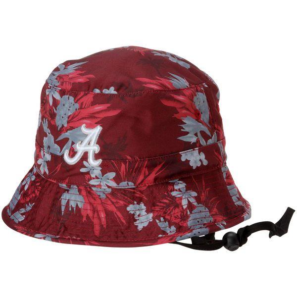 563d92646f0 Alabama Crimson Tide Top of the World Luau Bucket Hat - Crimson ...