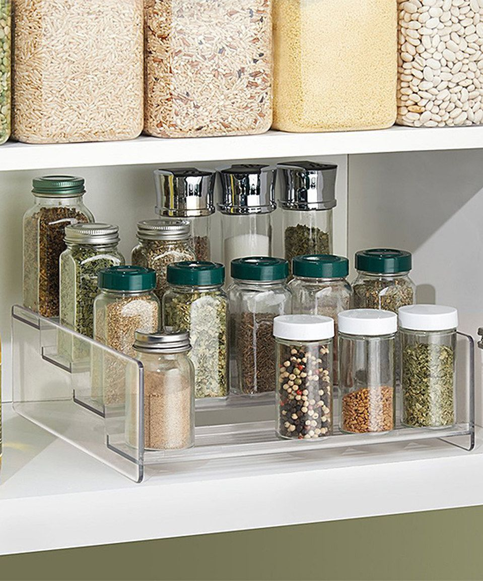 Another great find on #zulily! Linus Four-Tier Spice Rack by InterDesign #zulilyfinds