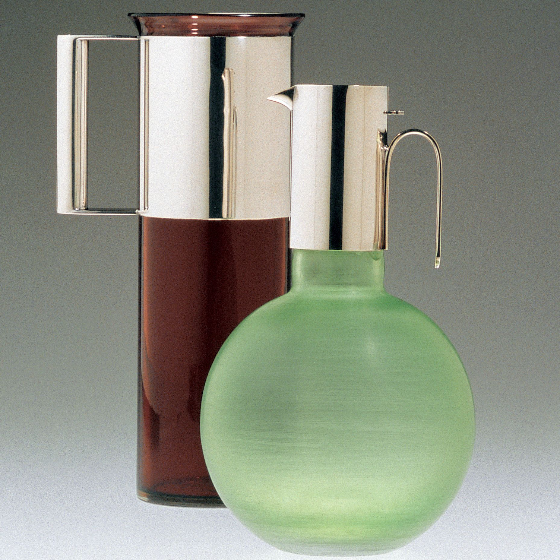 Lella and Massimo Vignelli's products, some of which are now on display at at the Italian Cultural Institute, are a study in elegance and simplicity.