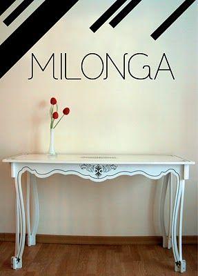 Milonga muebles - puro diseño argentino