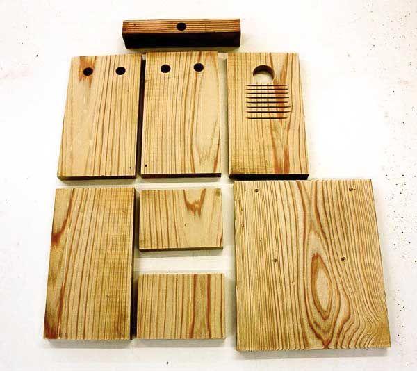 Make a Bluebird Nesting Box Free Plans