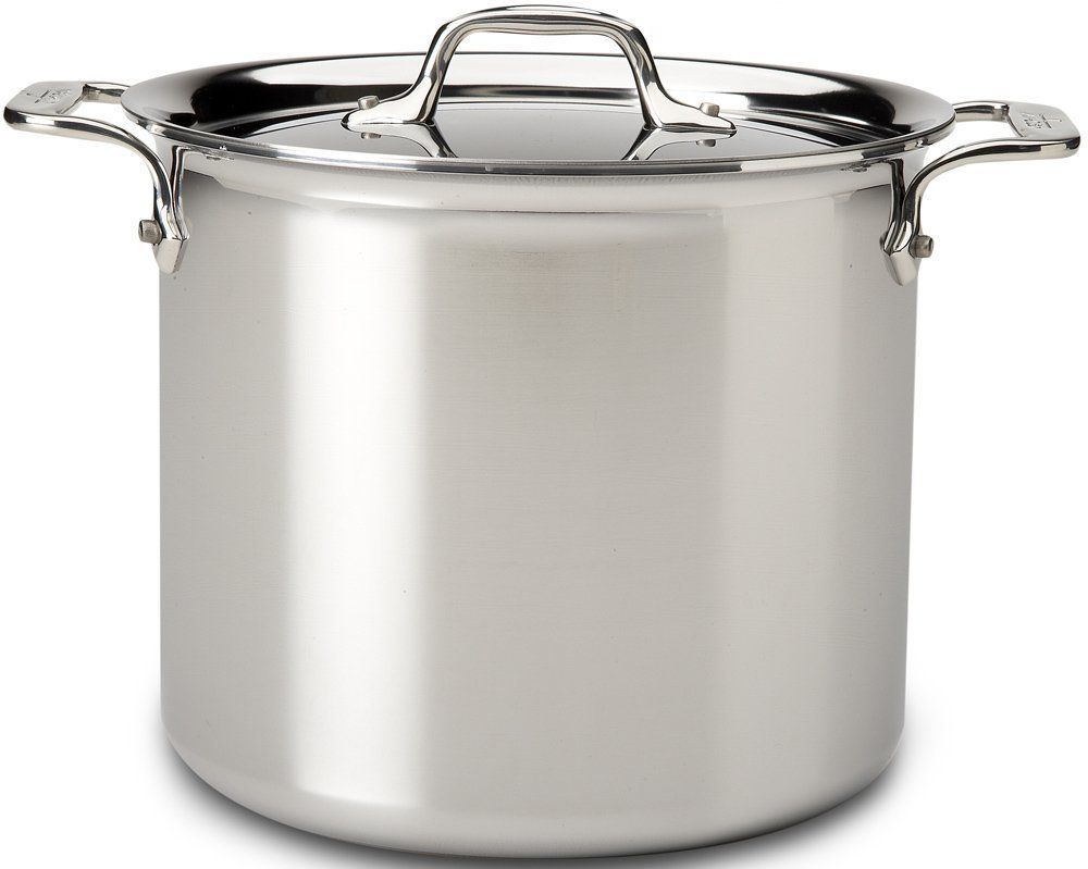 All Clad Pots With Stainless Steel Tri Ply Bonded Dishwasher Safe Stockpot With L