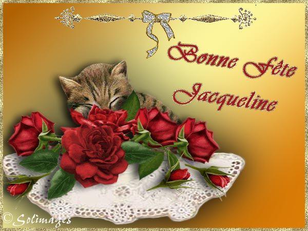 Bonne Fete Jacqueline Cartes Virtuelles Bonne Fete Jacqueline