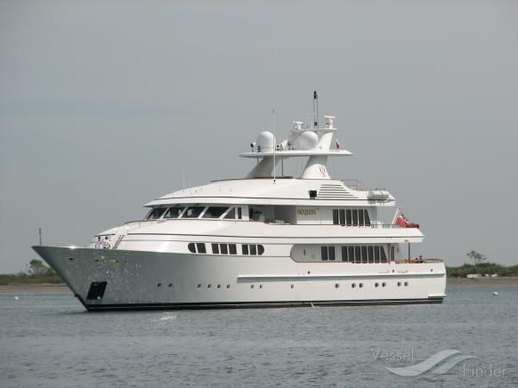 HERCULINA, type:Yacht, built:1998, GT:656, http://www.vesselfinder.com/vessels/HERCULINA-IMO-1005966-MMSI-229761000