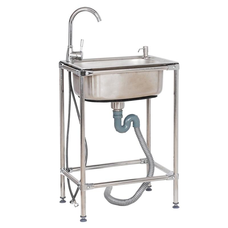 Modern Kitchen Sink Flexible Outdoor Stainless Steel