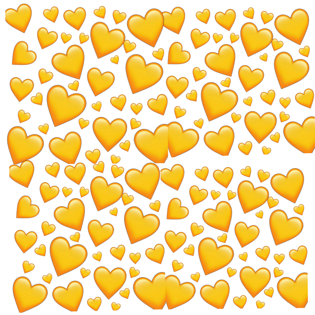 Edit Post Blog Heart Hearts Orange Yellow Yellowhearts Orangehearts Yellowheart Orangeheart Emoji Wallpaper Emoji Backgrounds Yellow Heart