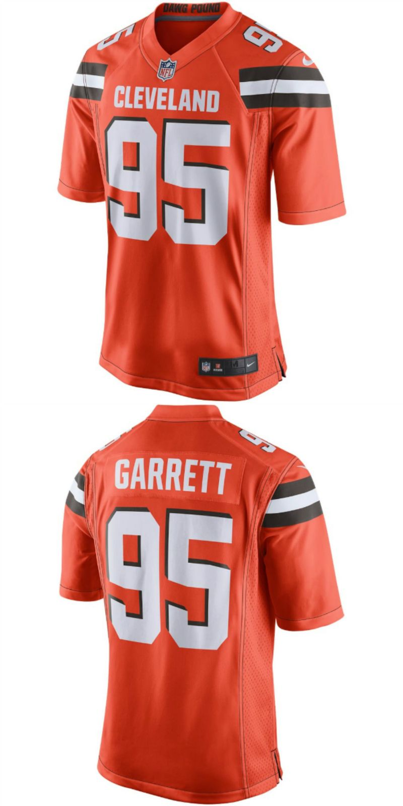 official photos 96588 bed43 UP TO 70% OFF. Myles Garrett Cleveland Browns Nike Alternate ...