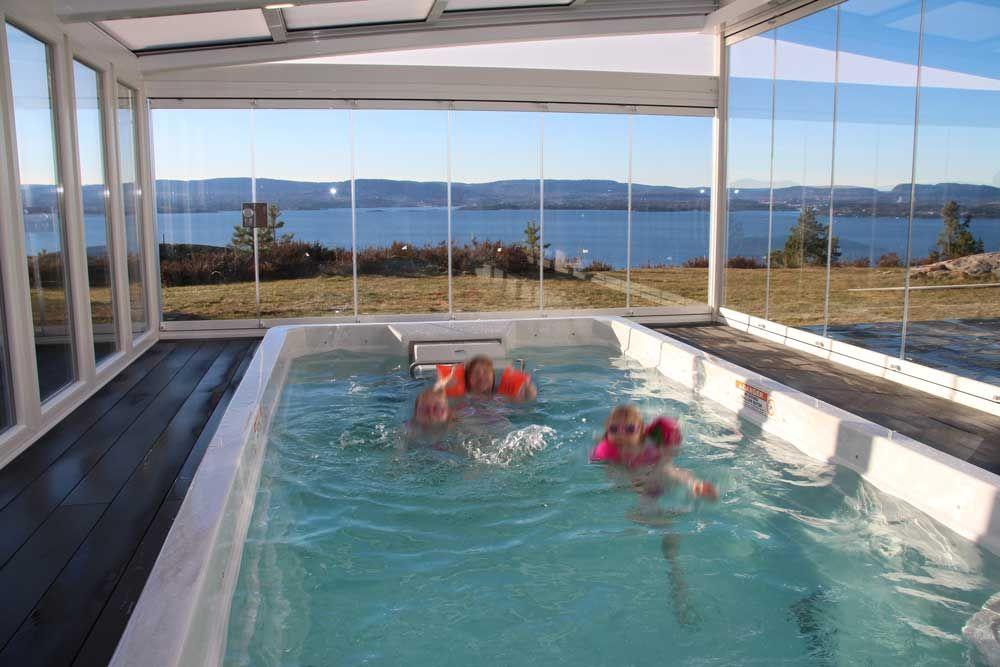 Cortinas de cristal puertas plegables cerramientos plegables laveranda10 piscina spa nuruega - Cristales para piscinas ...