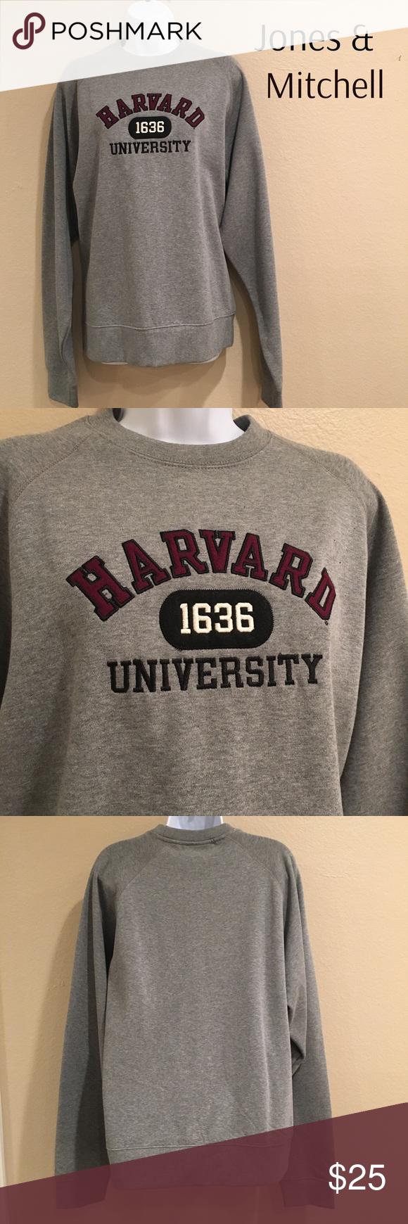 Jones Mitchell Harvard Sweatshirt Clothes Design Unisex Fashion Fashion Design [ 1740 x 580 Pixel ]