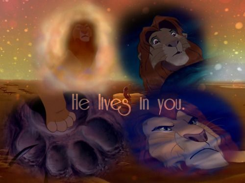I Want A Tattoo Of The Paw Print With Simbas Paw And He Lives In You Disney Quote Lion King Lion King Movie Disney Lion King