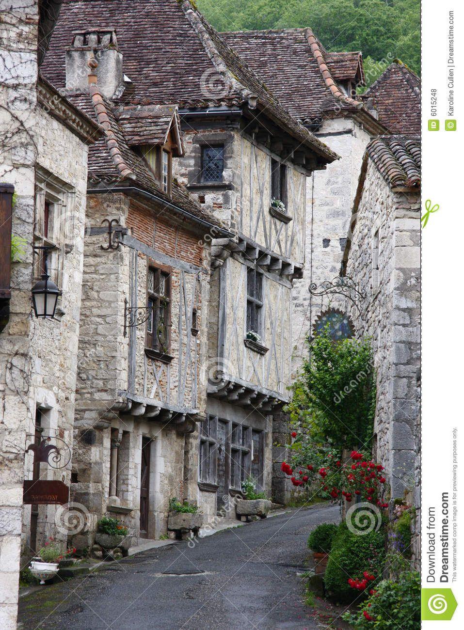 Architecte Paysagiste Midi Pyrénées french medieval street - download from over 53 million high