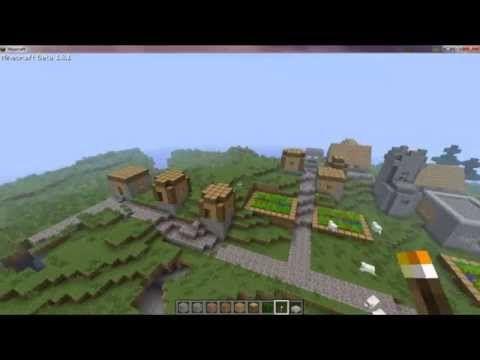 MINECRAFT VILLAGE FINDER : How to find a village in Mincraft
