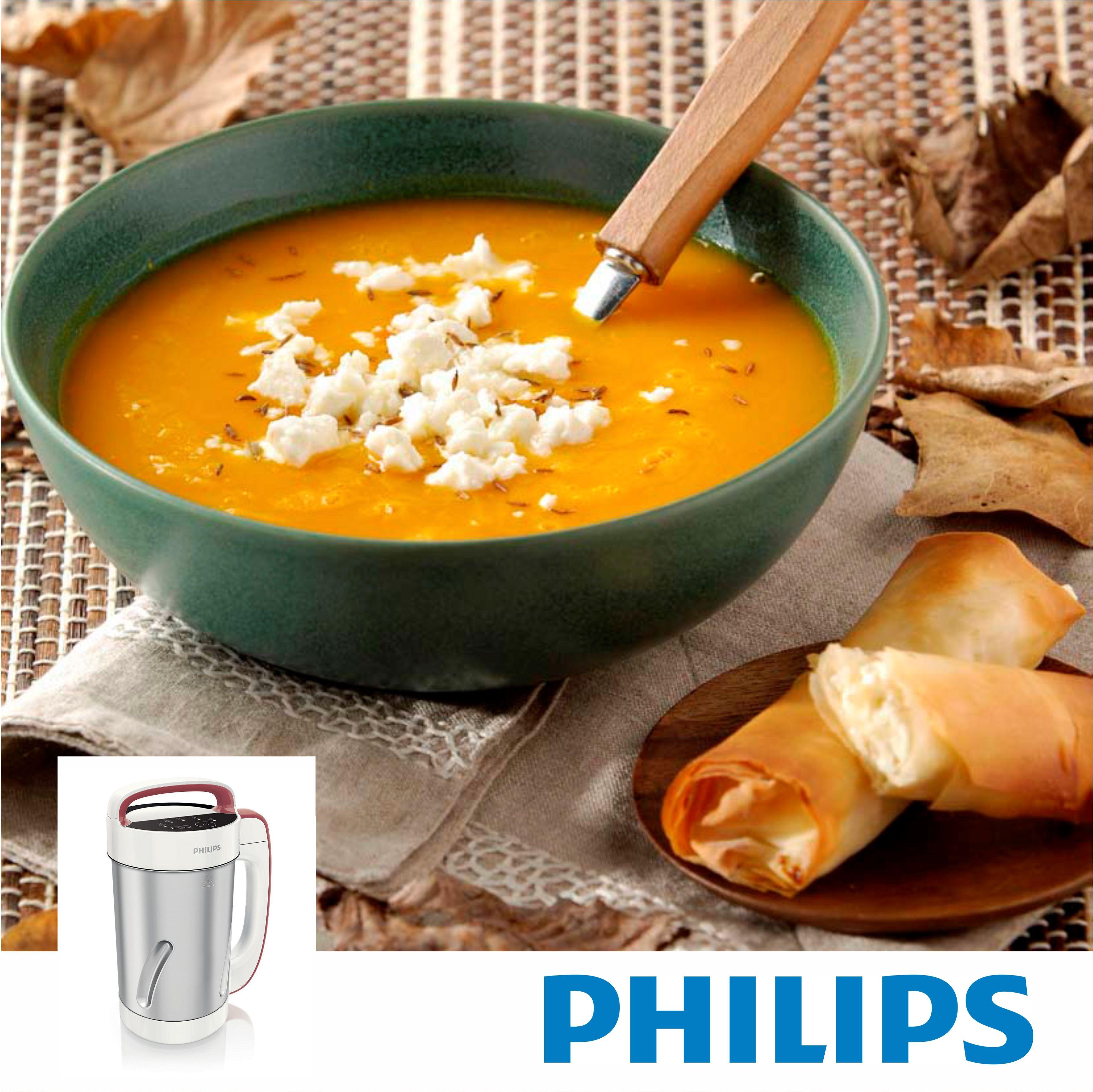 #Philips #SoupMaker #Sopera #HR2200 #RECETA #SOPA DE CALABAZA SUAVE CON