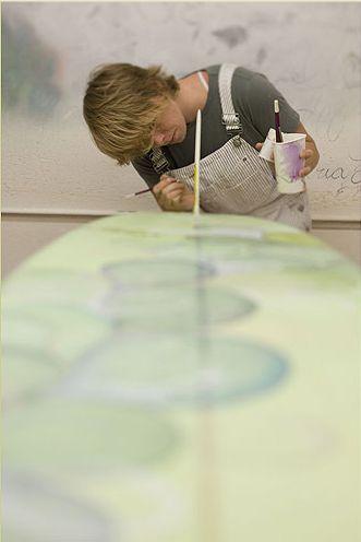 surfboard art-my dream job!