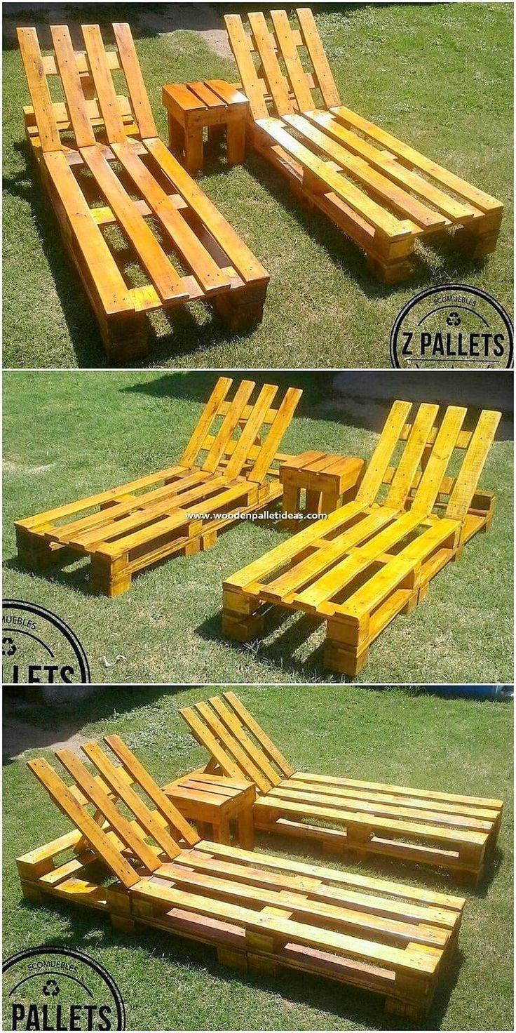 Recyclingkunst: 25 DIY-Projekte zur Wiederverwendung von Holzpaletten - My Blog