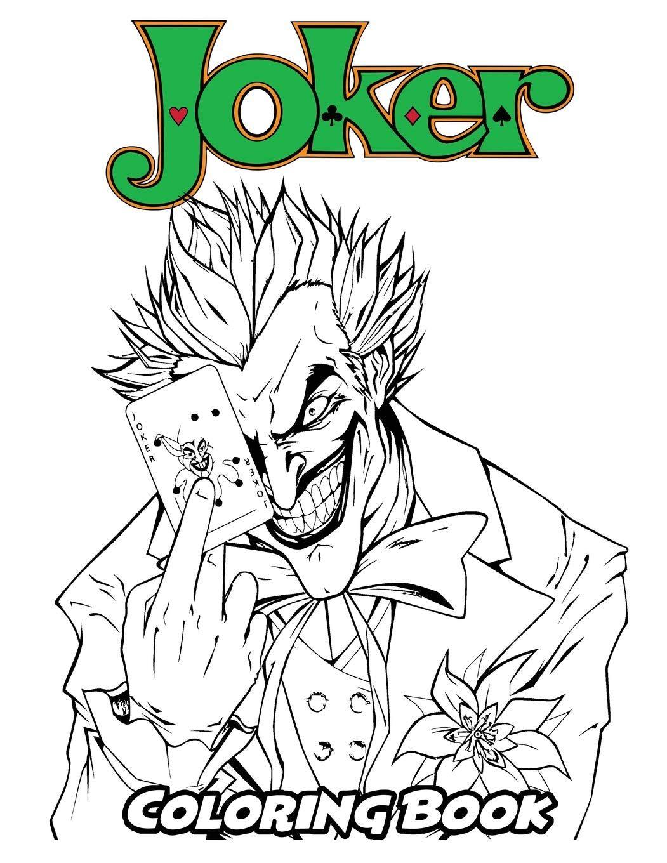 Joker Coloring For Kids Coloring Page Batman Coloring Pages Unicorn Coloring Pages Superman Coloring Pages [ 1360 x 1051 Pixel ]