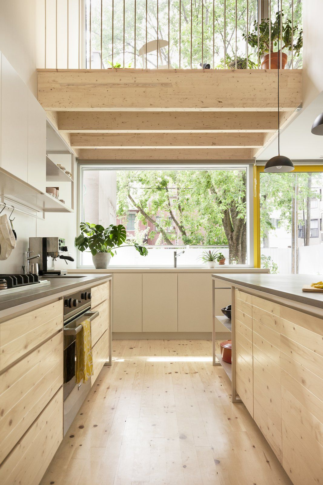 Before and after  century old row house in montreal gets glorious renovation rowhouse beforeandafter hometour kitchen also  rh pinterest