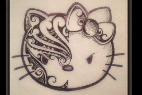 Maori Kitty | Hello kitty | Pinterest | Maori