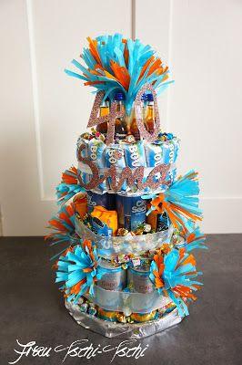 Frau Tschi Tschi Grosse Prosecco Torte Zum 40 Geburtstag