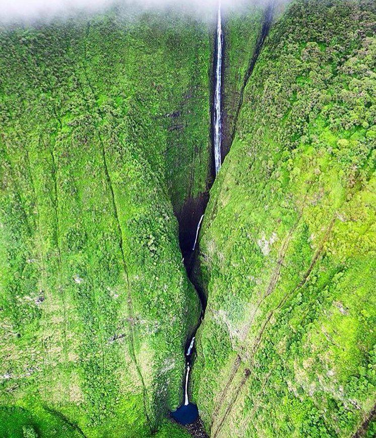 Kahiwa Falls / Photography By @_scottgordon_  #pukka_nature#kahiwafalls by pukka_nature