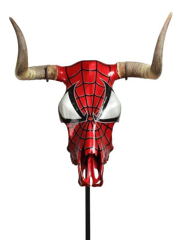 El 'Toro araña' una de las obras que Álvaro Soler expone en Las ventas a partir del jueves