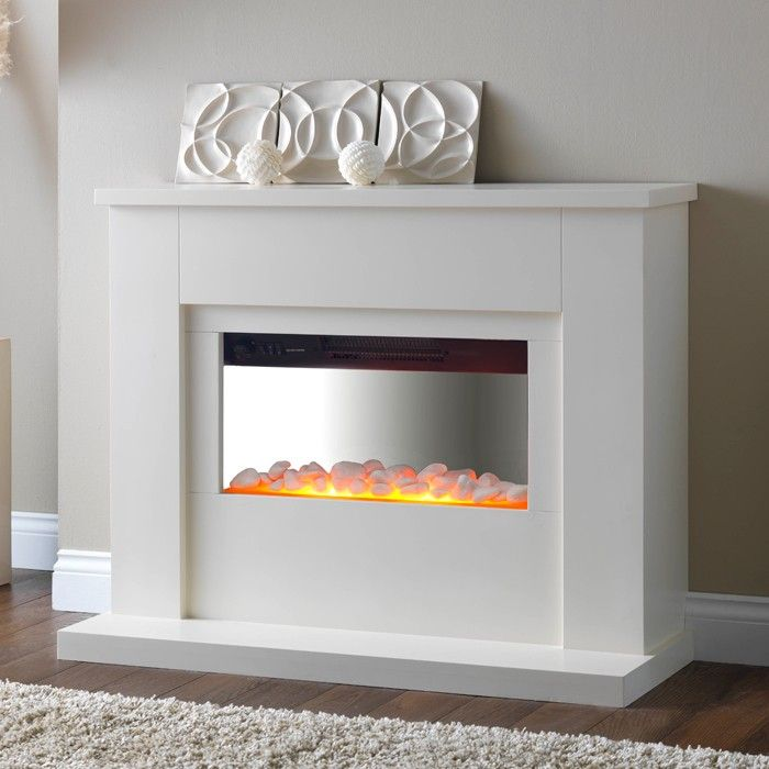 PureGlow Newport Freestanding Electric Fireplace Suite | Living ...