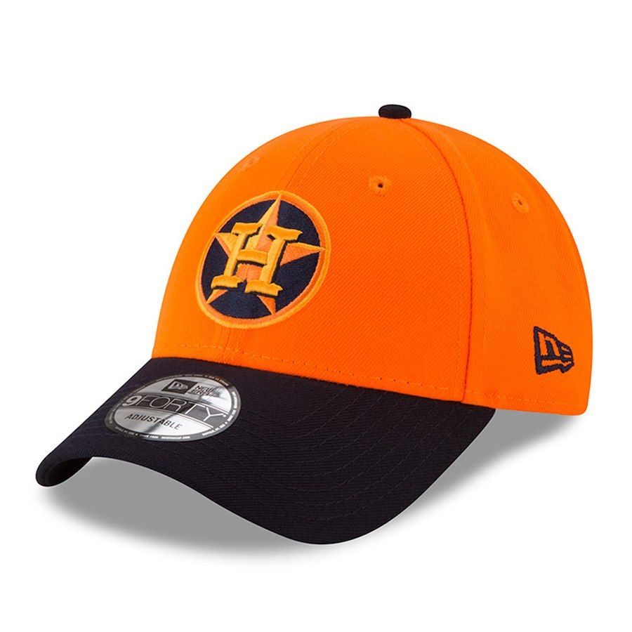 wholesale dealer c27c9 a656c Men s Houston Astros New Era Orange Navy 2018 Players  Weekend 9FORTY  Adjustable Hat, Sale   19.49 - You Save   6.50