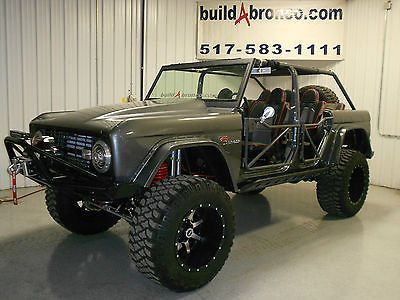 Ford Bronco Custom 4 Door Ford Bronco Bronco Classic Bronco