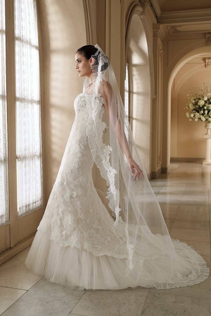 I love the traditional spanish lace veil wedding ideas pinterest