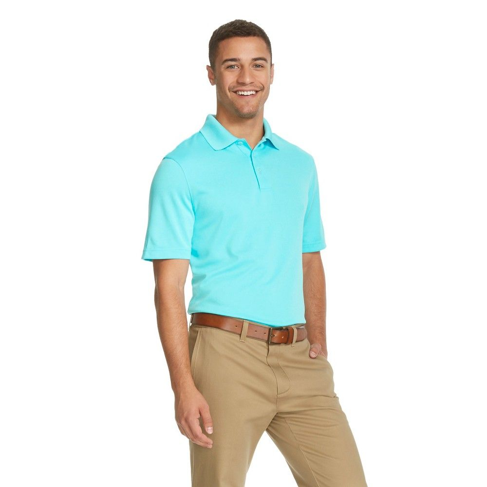 a04be6262 Men s Polo Shirt Turquoise Waters XL - C9 Champion