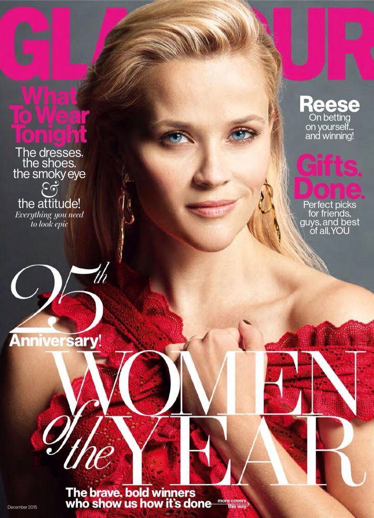 Reese Witherspoon - Glamour Magazine (Dic2015) #Magazine #ReeseWitherspoon #Glamour