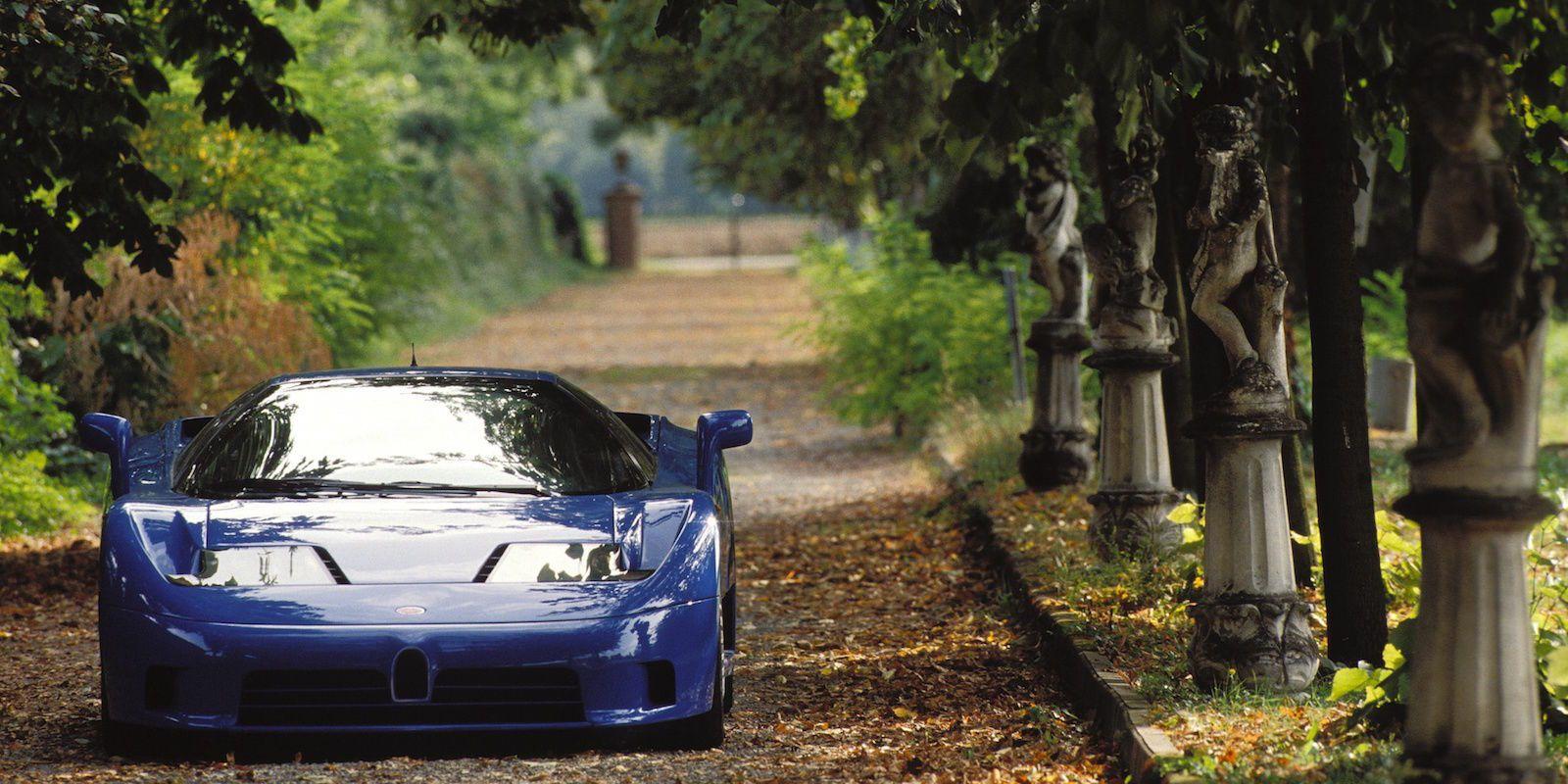The Man Who Created the Bugatti EB110 Says Industry Sabotage Shut ...