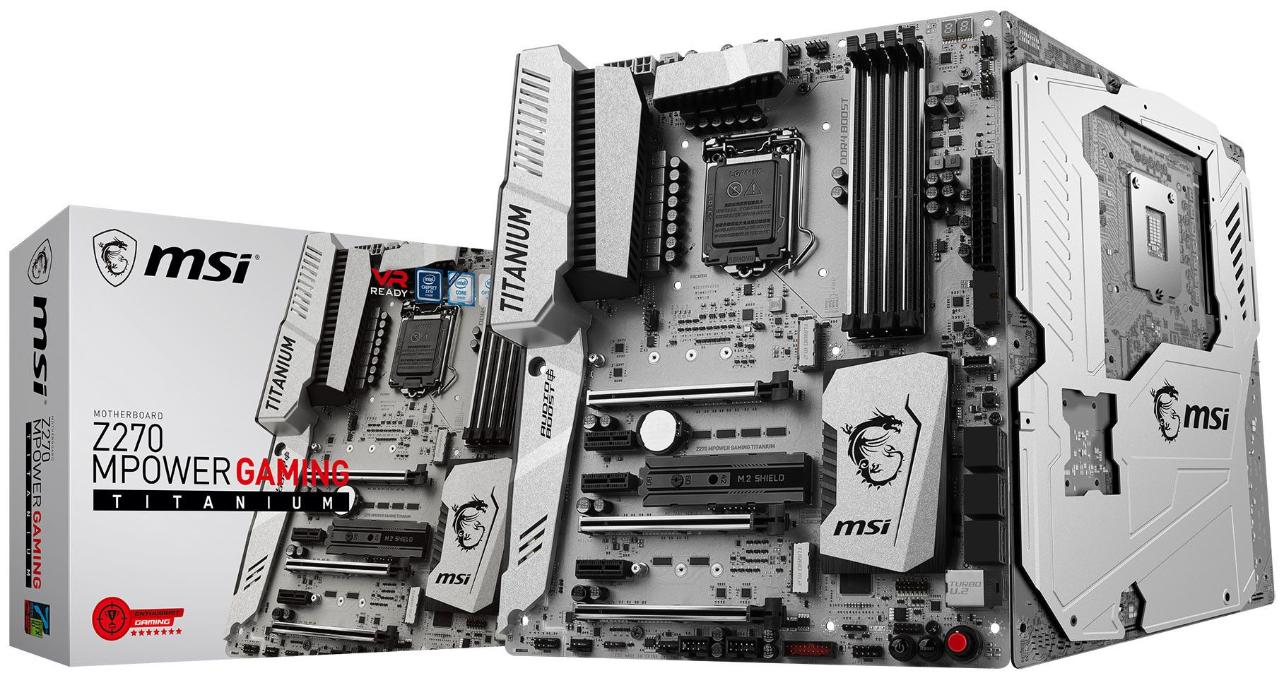 MSI Announces the Z270 MPOWER Gaming Titanium Motherboard