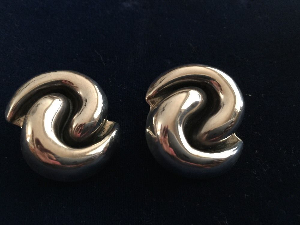 vintage silver pin sterling problem page hans hansen modernist earrings denmark load