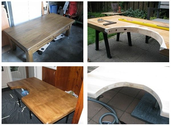 Phenomenal Build A Jewelers Workbench From An Old Coffee Table Its Machost Co Dining Chair Design Ideas Machostcouk