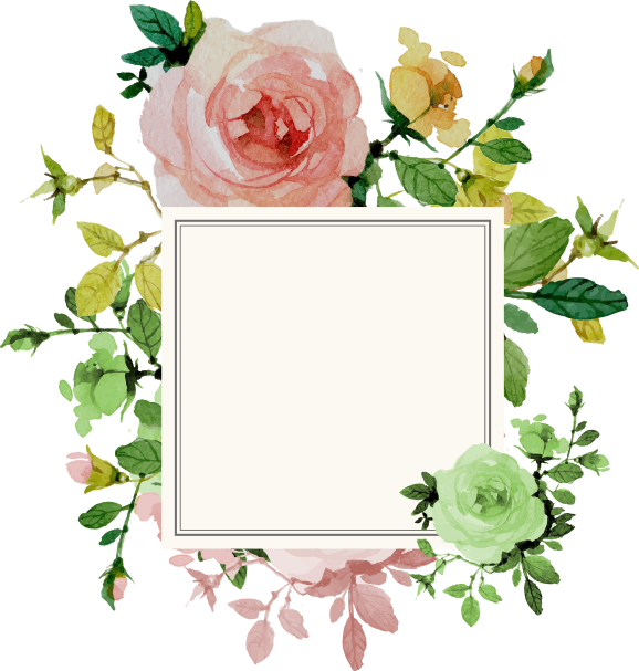 Pin By Tl On Kwiatowe Flower Painting Flower Border Flower Border Png