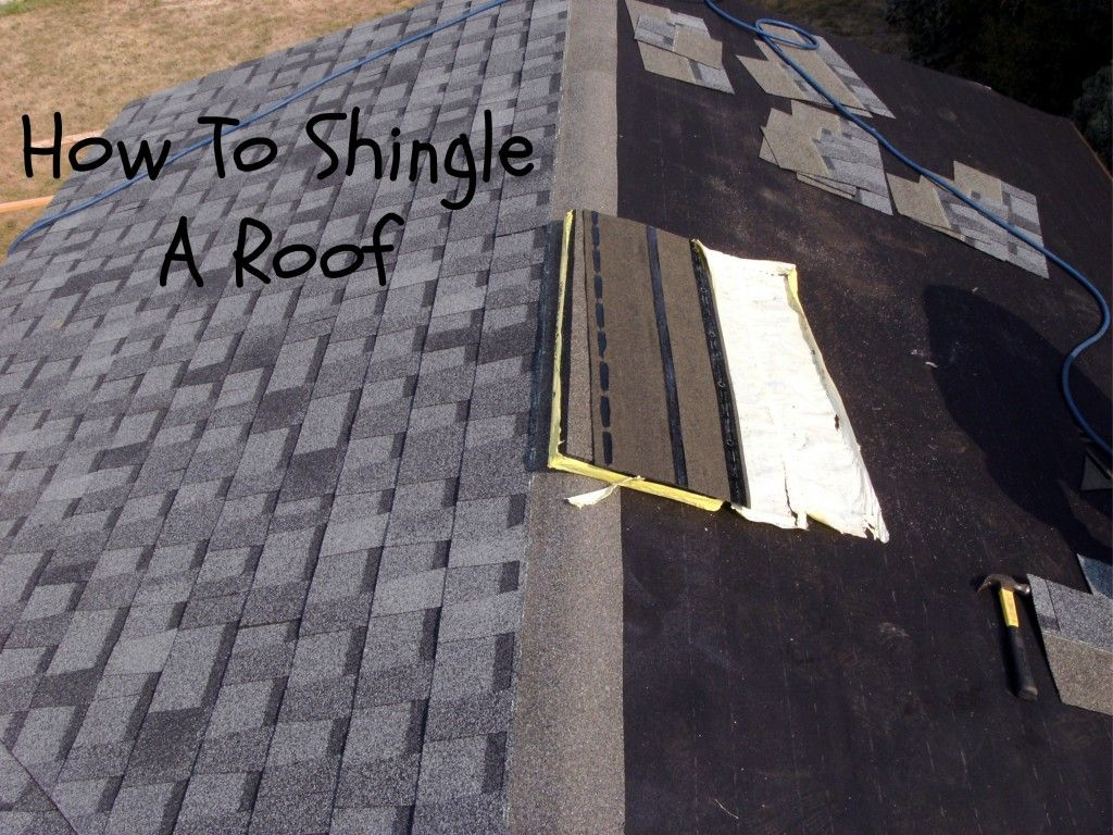 How To Shingle A Roof Laying Asphalt Shingles Asphalt