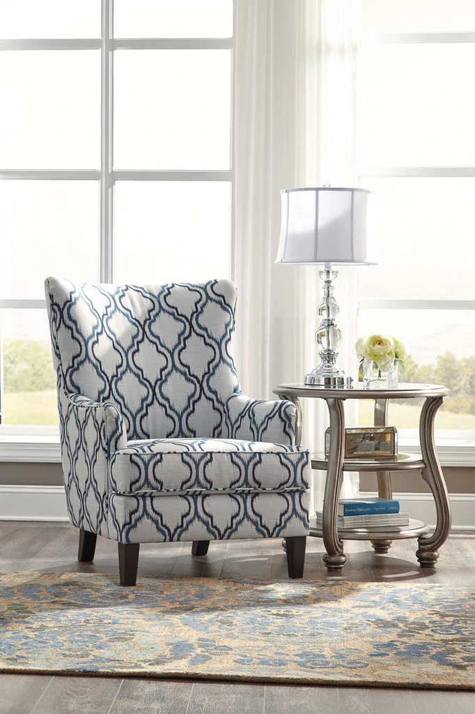 Best The Lavernia Moroccan Print Accent Chair Accent Chairs 400 x 300