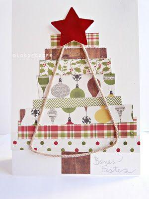 Resultat d'imatges de taller scrap felicitacio nadal