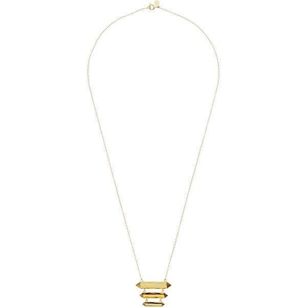 Gorjana Anya Charm Necklace in Metallic Gold S9hVdlECda
