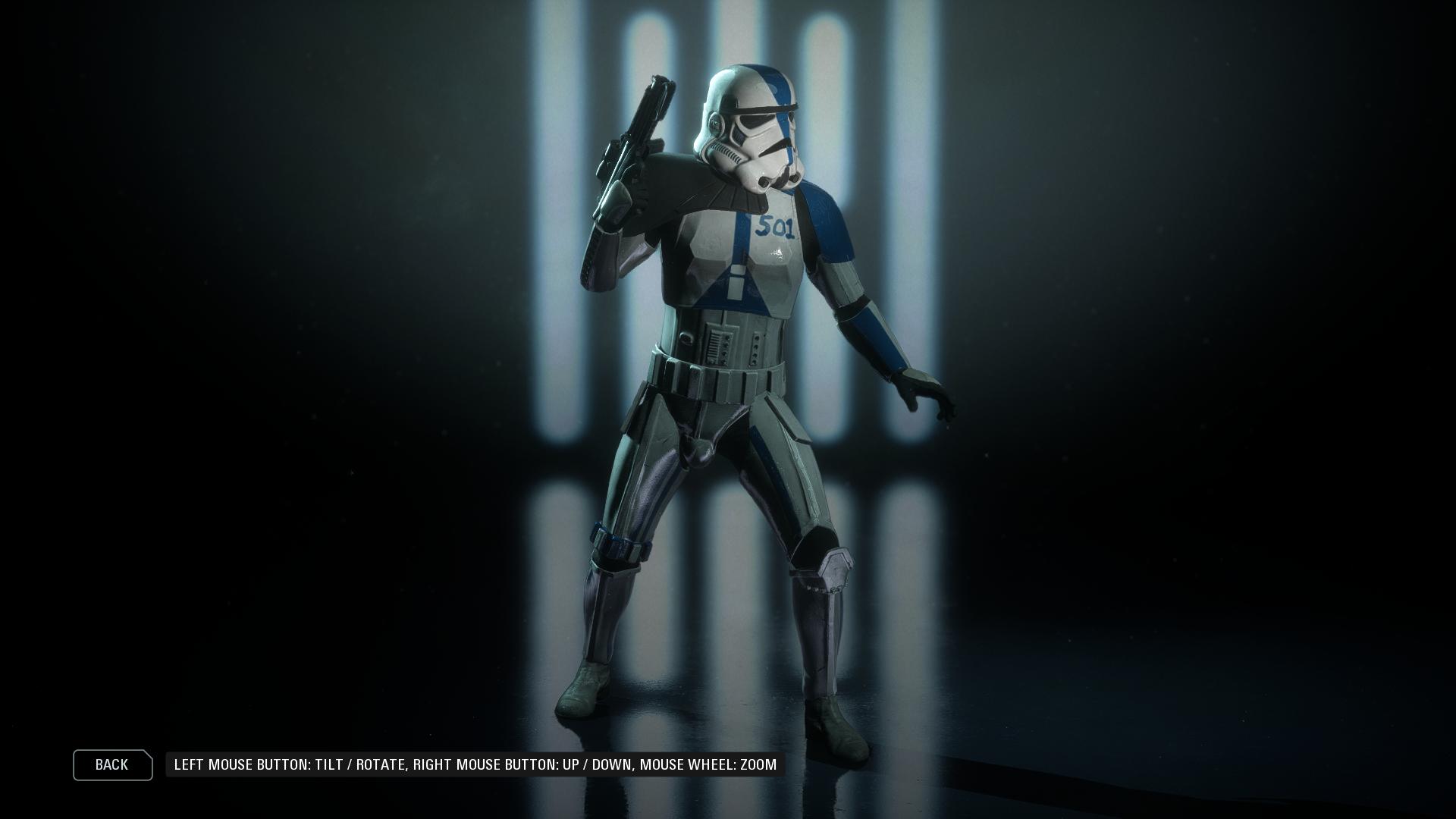 501st Stormtrooper At Star Wars Battlefront Ii 2017 Nexus Mods And Community Stormtrooper Star Wars Artwork Star Wars Trooper