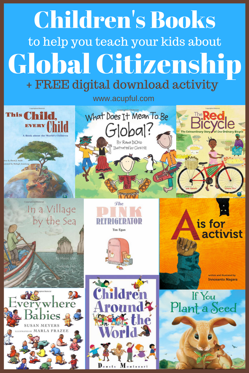 10 Children's books to encourage global citizens | Cultures for Kids