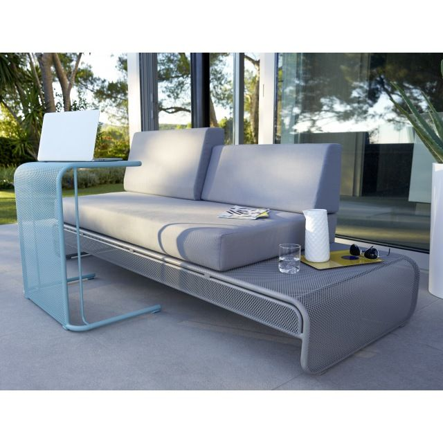 salon de jardin en m tal chiva sofa table basse aqua. Black Bedroom Furniture Sets. Home Design Ideas