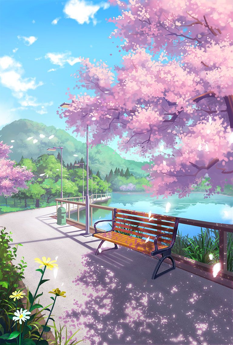 Anime Background Pictures : anime, background, pictures, Rehana, Ancient, Anime, Scenery, Wallpaper,, Backgrounds, Wallpapers