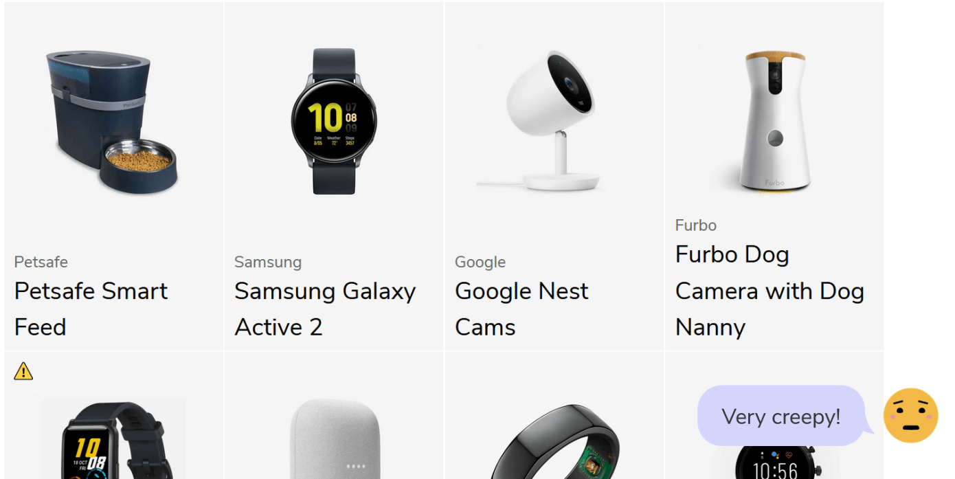 Mozilla releases a list of popular gadgets with