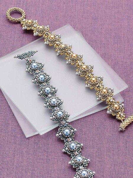 Himalaya Bracelet Beadwork Project; Liisa Turunen and Glenda Paunonen   InterweaveStore.com