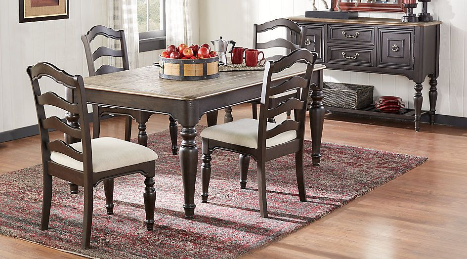 Arbor Ridge Cherry 5 Pc Dining Room Find Affordable Dining Room Sets For  Your Home That Will Complement The Rest Of Your Furniture.