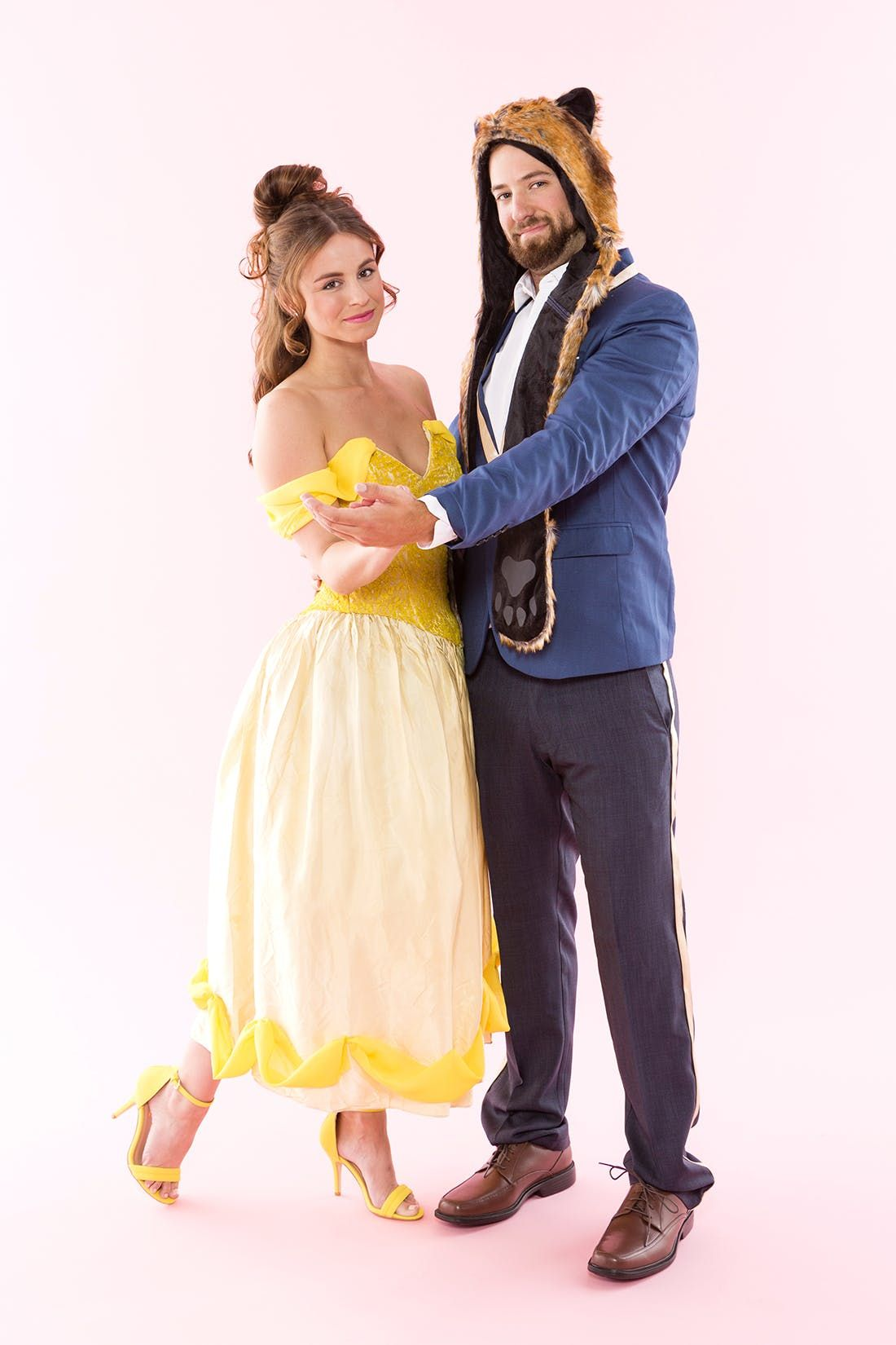 Wear This Beauty and the Beast Couples Costume for an