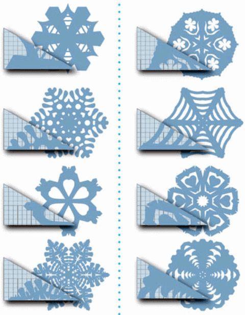 DIY Paper Snowflakes   DIY Paper Snowflakes   Craft Ideas