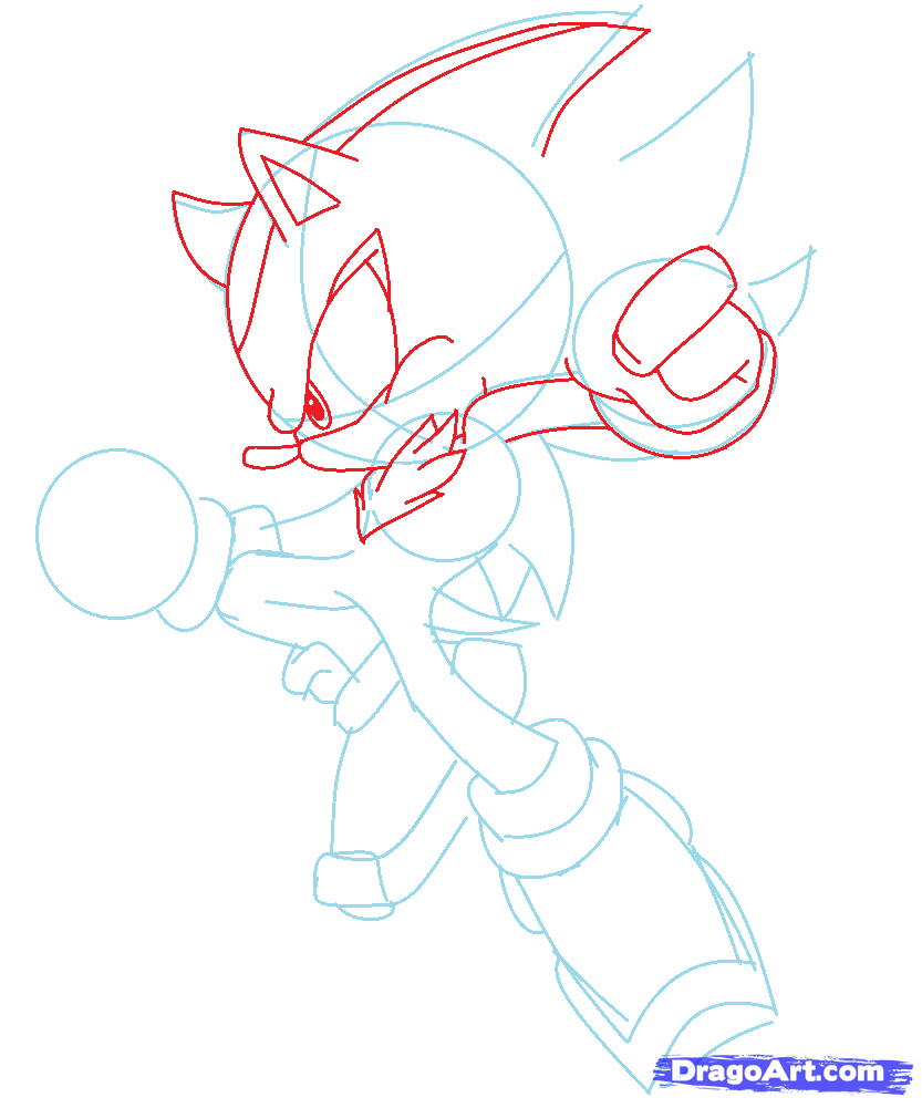 Pin By Phoneix Astrall On Drawing Ideas And Undertale Trash How To Draw Shadow Shadow The Hedgehog Drawings